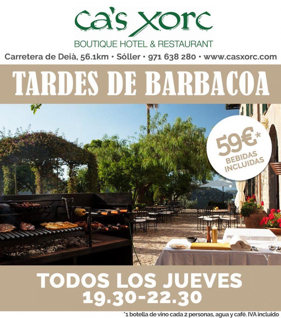 Tardes de BARBACOA en Ca's Xorc